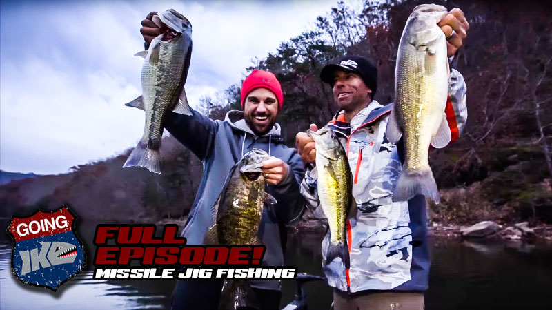 Going Ike with John Crews and Missile Jigs
