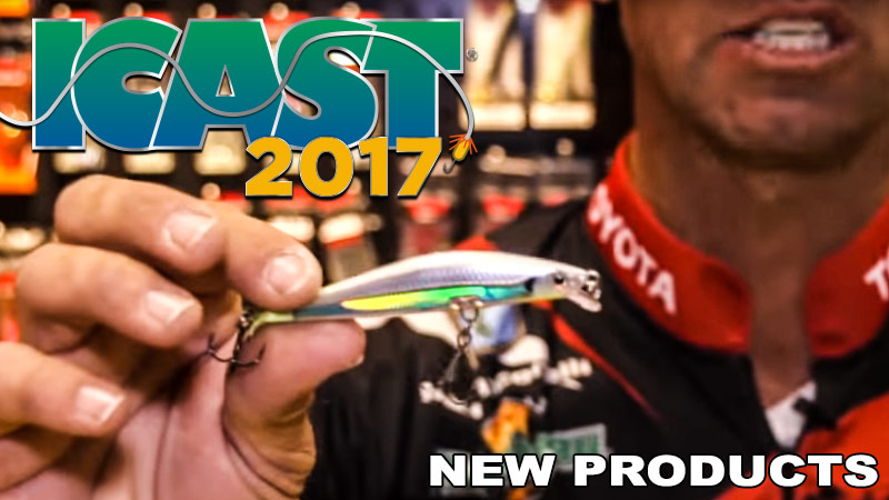 iCast 2017 New Fishing Products