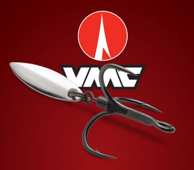 VMC Bladed Treble Hook