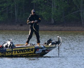 Photos of mike iaconelli for West point lake fishing
